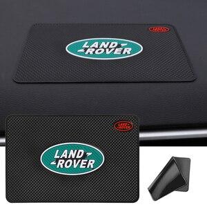 Image 1 - 1 Cái Nhựa PVC Dẻo Silicone Chống Trượt Bảng Điều Khiển Xe Thảm Chống Trượt Không Phụ Kiện Cho Land Rover Range Rover freelander Evoque Hậu Vệ SV