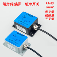 Inclination Sensor Dip Angle Switch Single Axis Biaxial Inclination Measurement Level Detection Relay Switch Alarm