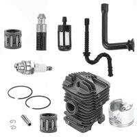 Kit de reconstrucción de pistón de cilindro de motosierra de 49mm para Stihl 029 MS290 039 1127 020 1216 Piezas para herramientas    -