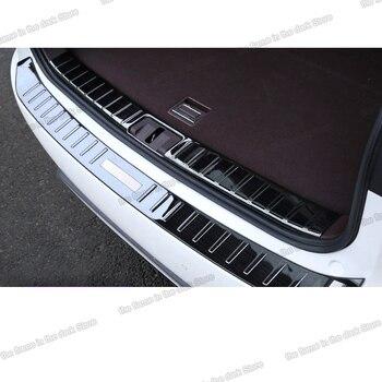 Lsrtw2017 para Lexus RX RX300 RX450h 200t, embellecedores de umbral para maletero de coche, molduras interiores antiarañazos de acero inoxidable, accesorios