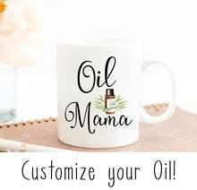 цена на 2020 Oil Mama Mug Essential Oils Mug Mother's Day Mug, Mom Mommy Lid Spoon Mug