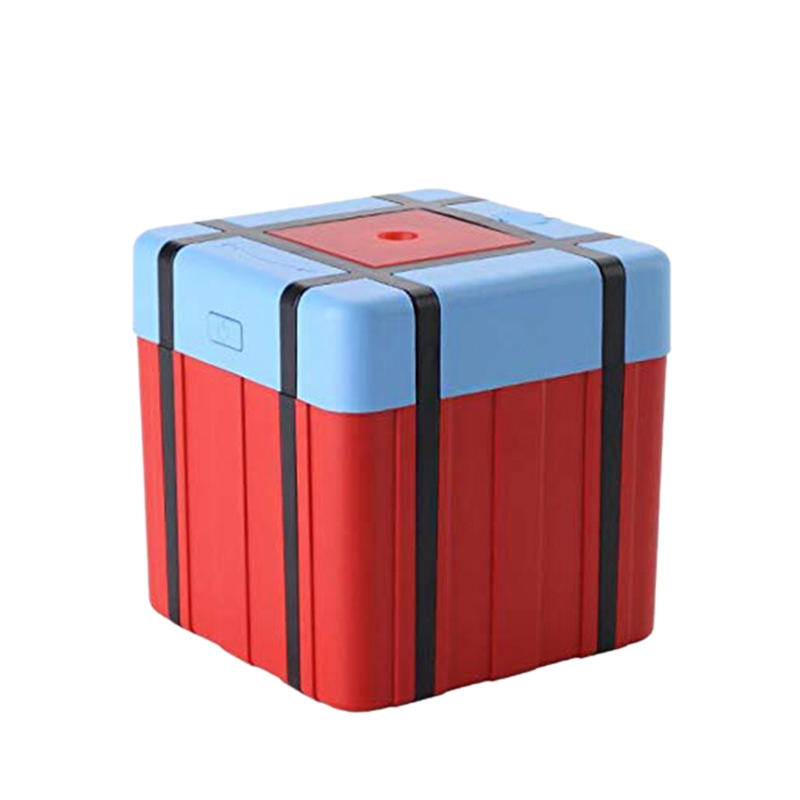 Ev Aletleri'ten Nemlendiriciler'de Airdrop kutusu nemlendirici Mini USB ultrasonik ev ofis masaüstü Pubg Airdrop çantası nemlendirici title=