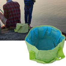15L Oxford Fabric Foldable Water Container Portable Basin for Outdoor Camping Travel  Basins