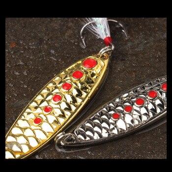 Señuelo Lentejuelas De Agua Dulce Bajo Topmouth Culter Salmon Tiro Largo Caña De Cabeza De Serpiente IOUs Diseñado Para Matar Bagres Metal Lentejuelas 3-20 Gramos