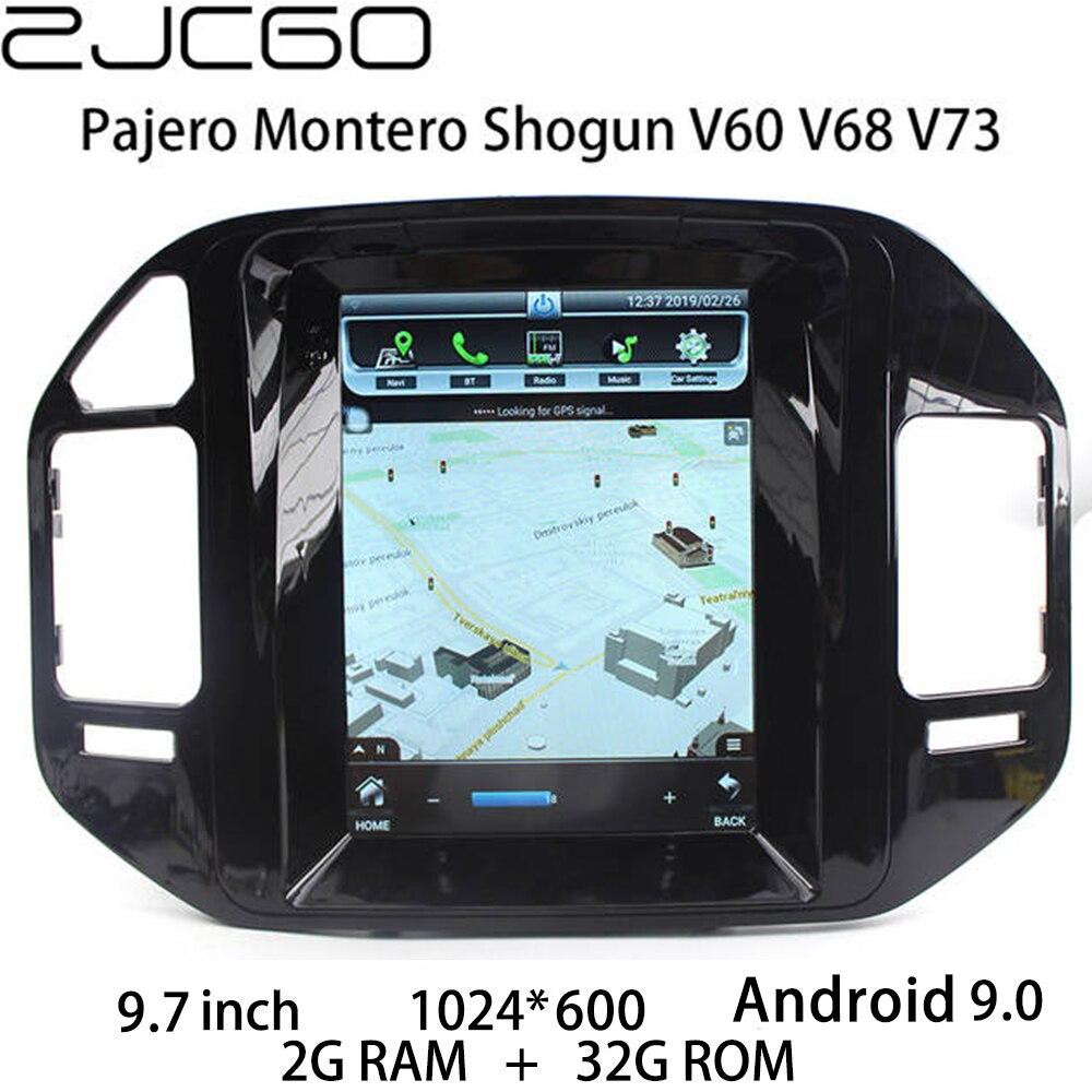 Car Multimedia Player Stereo GPS DVD Radio Navigation Android Screen For Mitsubishi Pajero Montero Shogun V60 V68 V73 1999~2006