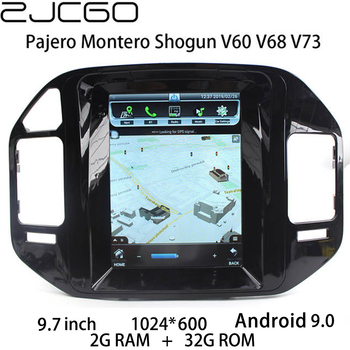 Car Multimedia Player Stereo GPS DVD Radio Navigation Android Screen for Mitsubishi Pajero Montero Shogun V60 V68 V73 1999~2006 цена 2017