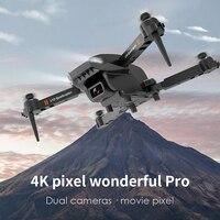 Berufs Drohne Tragbare 4K Dual-Objektiv Ultra-Klar GPS Positionierung 5G Bild Übertragung Top Luft Kamera lange Batterie Lebensdauer