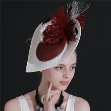 Бриллиантовые повязки для женщин имитация льняной пряжи аксессуары