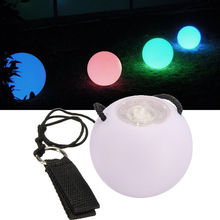 1PC Magic LED POI Thrown Balls for Professional Belly Dance Level Hand Props US Rsp