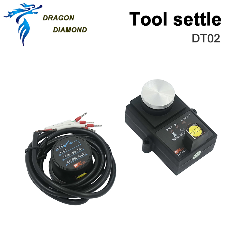 High Accuracy DT02 Wireless CNC Setting Gauge Universal Tool Height Controller