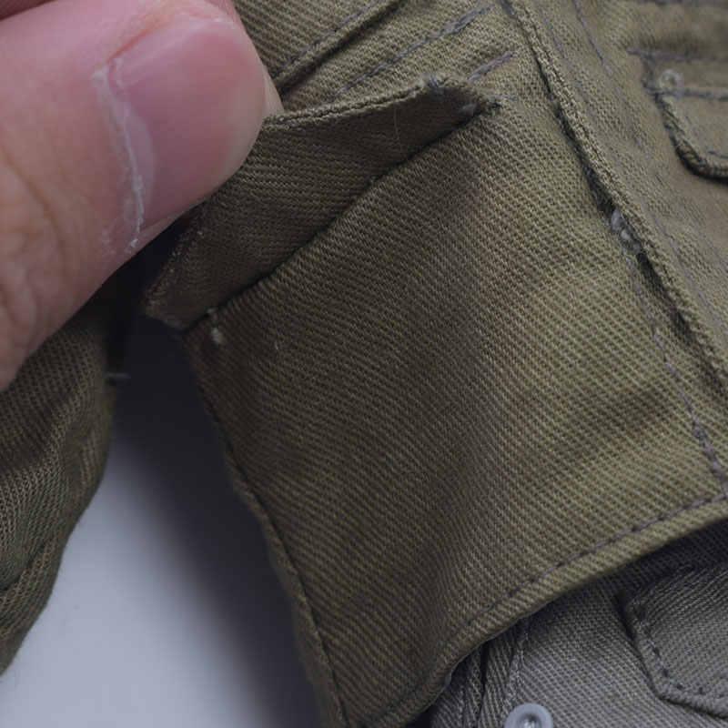 cuerpos 1 6 cuerpos 1/6 ropa militar 1/6 Chaqueta verde paracaidista estadounidense a escala 1/6, uniformes ww2, accesorios de abrigo, traje para hombre militar de 12 pulgadas, cuerpo de figura de acción, ropa de mujer