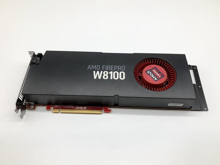 Original AMD FirePro W8100 8GB Professional Graphics Card 3D Rendering Modeling Design