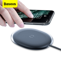 Baseus 15W Qi Drahtlose Ladegerät Für iPhone 11 Pro 8 Plus Induktion Schnelle Drahtlose Aufladen Pad Für Airpods Pro samsung Xiaomi mi 9