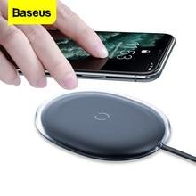 Baseus-cargador inalámbrico Qi de 15W para móvil, almohadilla de carga rápida de inducción para iPhone 11 Pro 8 Plus, Airpods Pro, Samsung, Xiaomi mi 9