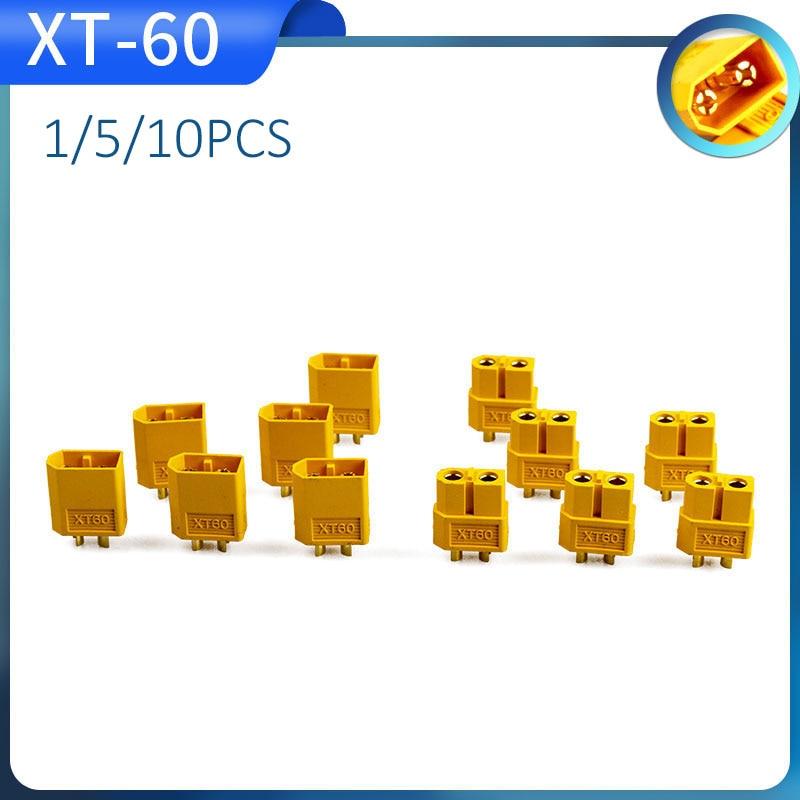 1/5/10pcs 1/5/10pairs XT60 XT-60 Male Female Bullet Connectors Plugs For RC Lipo Battery
