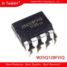 2pcs W25Q128FVIQ 25Q128FVIQ 25Q128FV1Q DIP 8 original novo