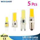 1/5pcs LED G9 G4 Dim...