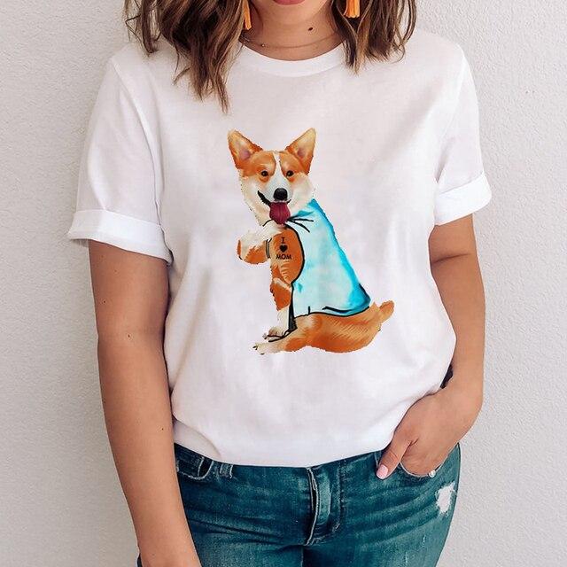 I Love Mom - Women's T-Shirt With Logo  5