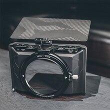 Mới Mini Di Động Matte Box Cho Tilta MB T15 Camera Lens Hood Dành Cho Máy Ảnh DSLR Máy Ảnh Không Gương Lật Các Bộ Phận Dự Phòng Sợi Carbon Top FENDER
