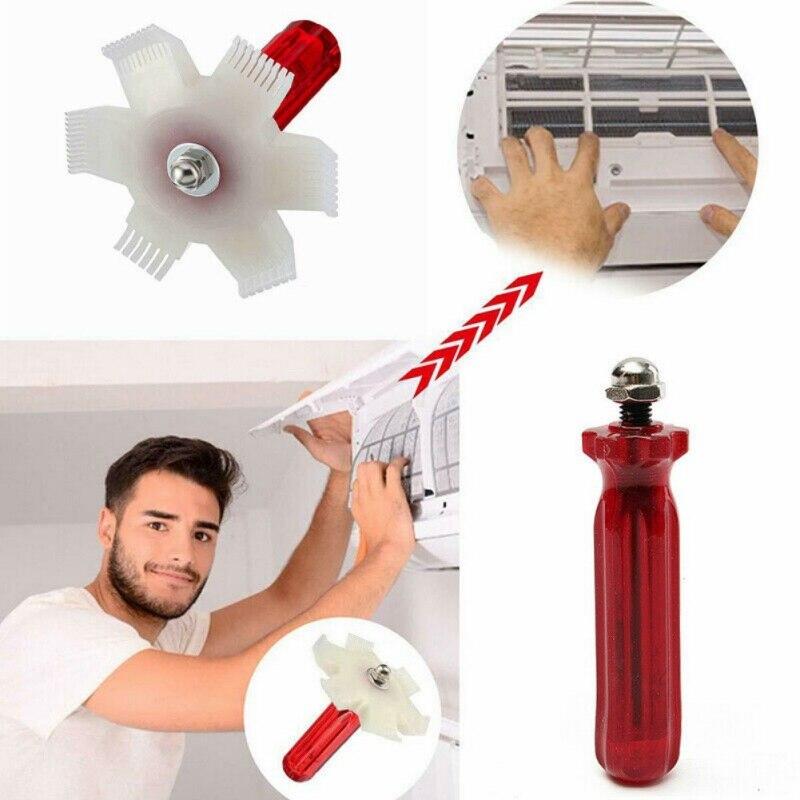 Universal Car A/C Radiator Condenser Fin Comb Air Conditioner Coil Straightener Cleaning Tool Condenser Straightener