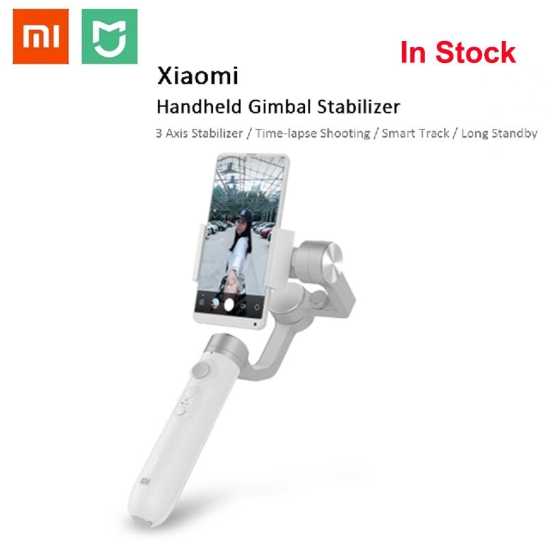 Xiaomi Mijia GH2 3 axes stabilisateur de cardan à main pour Xiaomi 4K Sport Action caméra et stabilisateur de téléphone VS Feiyu Tech ZHI YUN