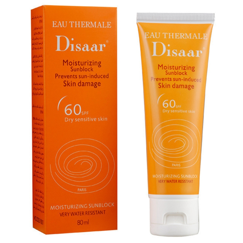 Disaar Moisturizing Hydrating Sunscreen Spf 60++ Waterproof Hypoallergenic Sunscreen Prevents Skin Whitening Lotion