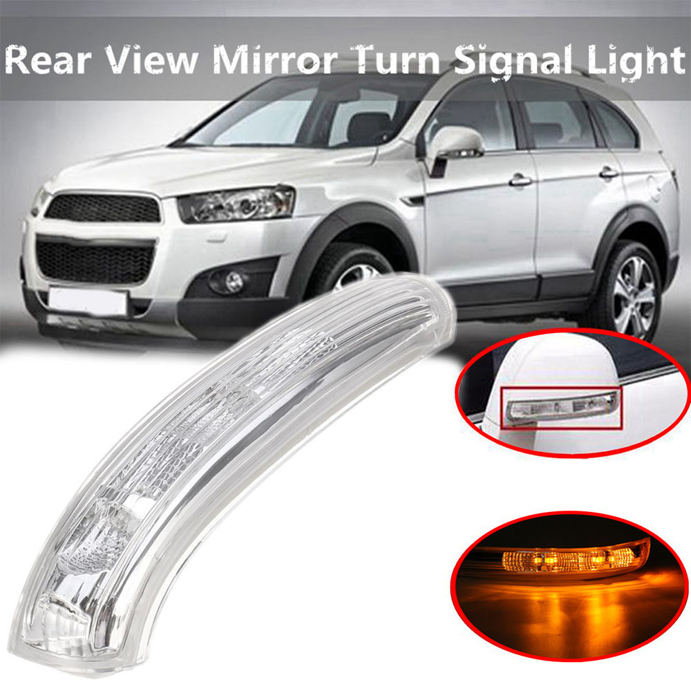 Transformar a Luz do Sinal Do Carro LEVOU Espelho Retrovisor Lateral LED Turn Signal Blink Repetidor Lâmpada Luz para Chevrolet Captiva 2007- 2016