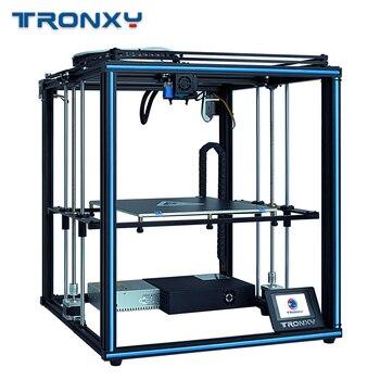 FDM Tronxy X5SA-400 3D impresora DIY Kits nivelación automática pantalla táctil cama de calor 400*400mm