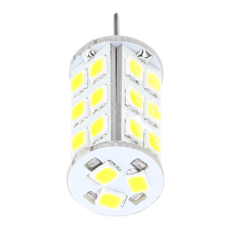 Led G6.35 Lamp 2835SMD 27leds 350LM Can Replace The 20W 30W Halogen Bulb High Voltage DC10-30V/AC8-20V  Dimmable  1pcs/lot