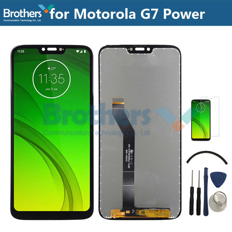 LCD Display Für Motorola Moto G7 Power LCD Bildschirm für Moto G7 Power LCD Montage Touchscreen Digitizer Telefon Ersatz test