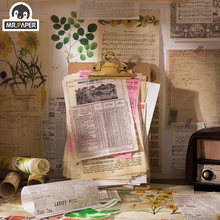 Mrpaper 40 шт/лот europe washi материал журнализация цилиндр