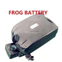 24v 36v 48v 52v 250w 350w 500w 750w motor Frogs battery Electric bike battery 10ah 12ah 13ah 15ah 17.5ah 20ah