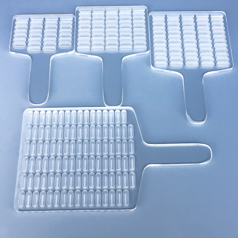 Manual Capsule Counter Table Counting Capsule 10-150 Hole Plexiglass