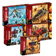 Presale New Ninja Series Bricks Fire Fang Compatible Legoingly Ninjagoing 70674 70671 70672 Building Blocks Toys for Kids Gift