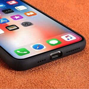 Image 4 - Custodia Fhx 15U mimetica in vera pelle per iPhone 11 11 Pro Max cavalletto magnetico di lusso per iPhone X XS MAX XR