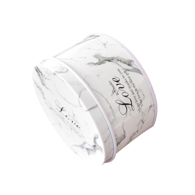 6 pièces 14 Styles étain pot boîte bonbons cadeau boîte mariage bébé douche cadeau d'anniversaire bijoux scellé emballage boîte en métal rangement organisateur - 5