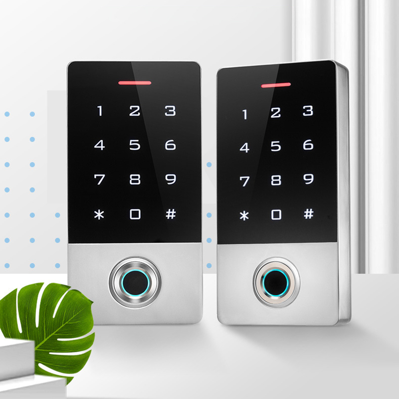 Водонепроницаемый IP68 контроль доступа отпечатков пальцев контроллер одностворчатой двери автономная клавиатура Finger TF1