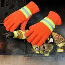 DA-075 luvas resistentes ao calor bombeiro luvas de fogo anti-estático isolado