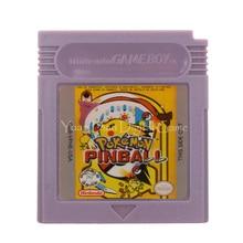 สำหรับNintendo GBCเกมคอนโซลการ์ดPoke Series Pinballรุ่นภาษาอังกฤษ