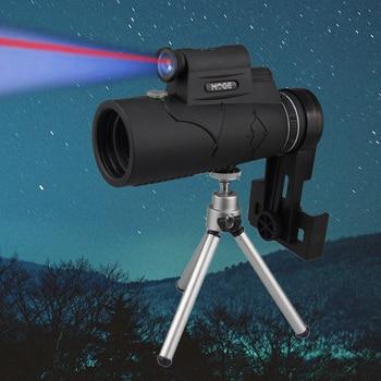 Professional Monocular for Mobile Night Vision 50x60 Laser Illuminated Eyepiece Handheld Objective Lens Hunting Optics Telescope