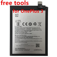 Nouveau 3000mAh BLP613 batterie de haute qualité pour OnePlus 3 One Plus 3 batterie de téléphone portable + outils gratuits