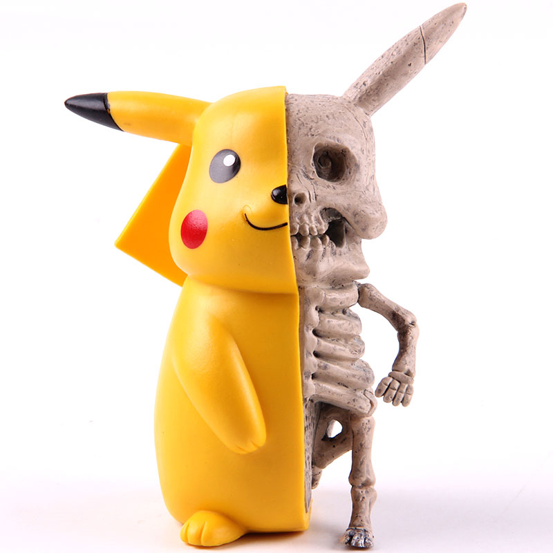 Anime Monster Skeleton Dissection Figures PVC Action Figure Collectible Funny Model Toy