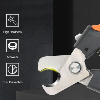 SD-205/205B cable cutter stripper pliers industrial level cutter ability 24mm2/38mm2 diameter 10mm/16mm 5CR13 steel tools 2