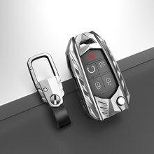Zinc Alloy Key Holder Cover Case for Chevrolet for Cruze Aveo Trax Opel Astra Corsa Meriva Zafira Mokka for Buick