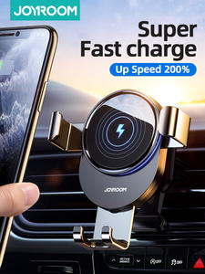 Wireless Charger Car-Mount Car-Phone-Holder Intelligent iPhone Joyroom 15w for Qi Infrared