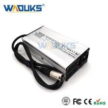 54.6V 7A chargeur 54.6V Li ion chargeur de batterie pour 13S 48V Lithium batterie 48V e bike chargeur
