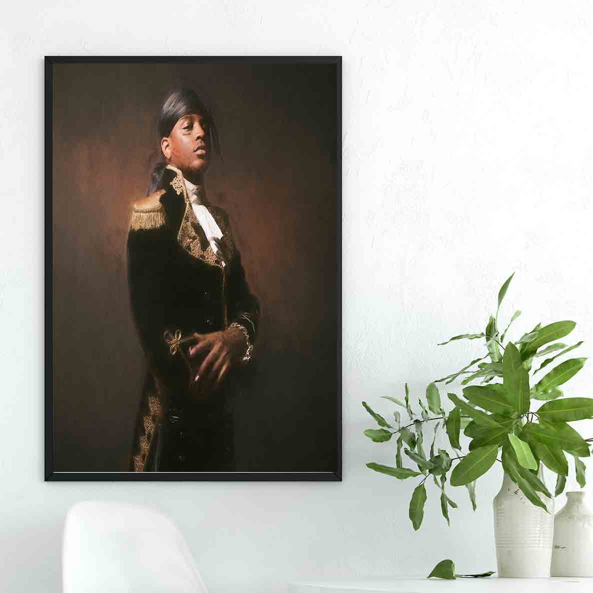 D253 Ski Mask The Slump God New 2018 Rap Music Cover Album Art Silk Poster Decoration Print canavas wall Pictures 24x36 27x40 image