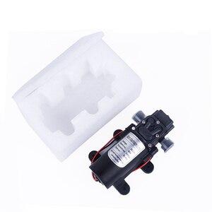 Image 5 - Миниатюрный мембранный насос высокого давления, 12 В, 24 В, 60 Вт, 5 л/мин, с автоматическим переключателем, многофункциональный насос постоянного тока
