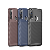 style protective For Huawei Y9 Prime 2019 Case Business Style Silicone Shell Coque TPU Back Phone Cover Protective Case For Huawei Y9 Prime 2019 (1)