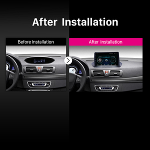 Image 5 - Harfey 9 inch Bluetooth GPS Navigation Car Radio Android 9.0 HD Touchscreen For Renault Megane 3 2009 2014 support Carplay SWC